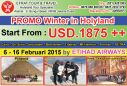TOUR KE ISRAEL 6 - 16 Februari 2015 Egypt - Israel - Jordan   Mt.Hermon   Petra by ETIHAD AIRWAYS