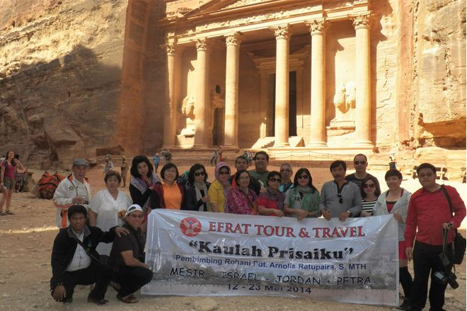 Tour ke Israel Gallery Petra  3 holyland_tour_indonesia