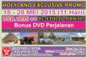HOLYLAND TOUR 18 - 28 Mei 2015 Egypt - Israel - Jordan  PROMO by ETIHAD AIRWAYS